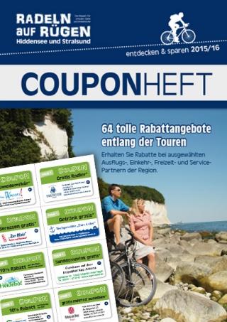 Radeln auf Rügen Ausgabe 2015 Couponheft