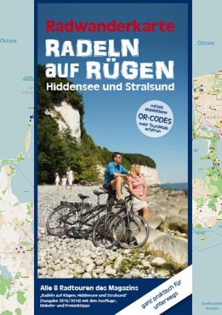 Radeln auf Rügen Ausgabe 2015 Faltkarte